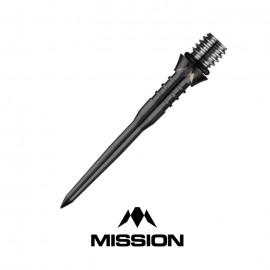Titan Pro Titanium Black 30mm Grooved