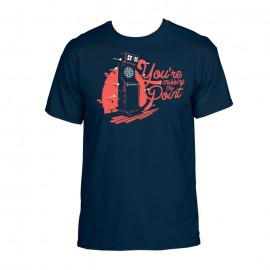 Majica YMP - navy plava